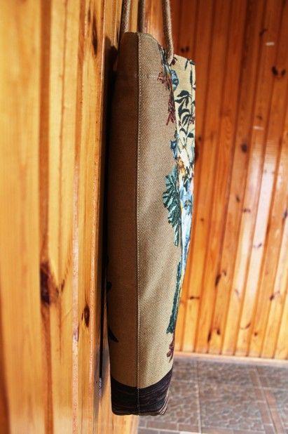 Сумка пляжная женская ИКЕБАНА, брендовая TIRA, Украина