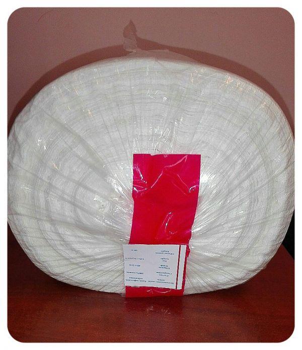 Белая вафельная ткань АРТ-У145 (1)