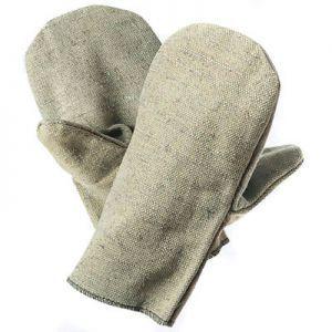 Купить рукавицы брезентовые со спилковым наладонником в Киеве, Днепре и Украине