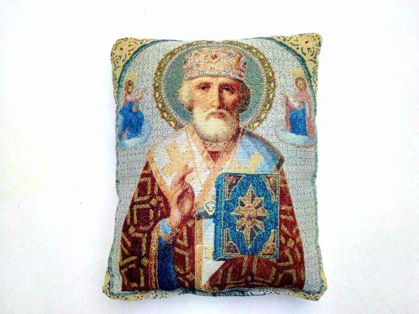 Декоративные подушки из гобелена Св Николай