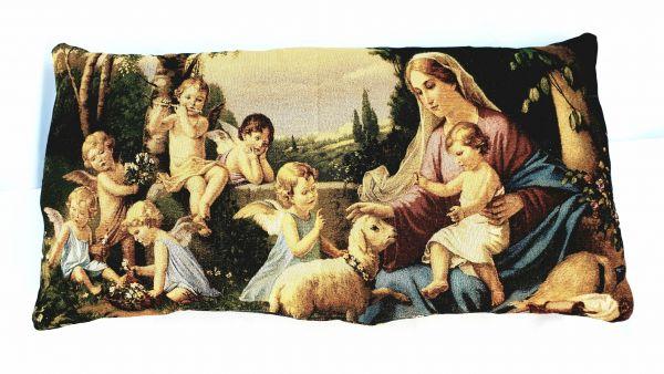 Декоративная подушка из гобелена Ангелы