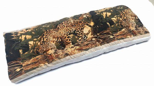 Матрас матрац ватный 70х190  Гобелен Леопард