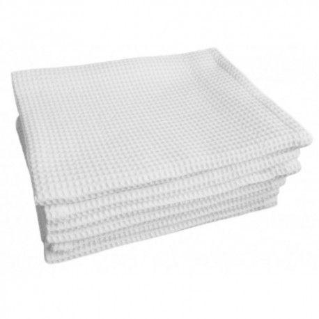 """Вафельное полотенце """"ЛЮКС"""" 100% х/б, 45х75 см,  упаковка 10 шт."""